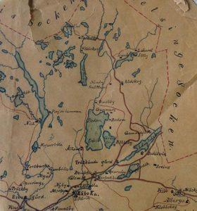 Pohjois-Espoo 1900 -luvun alussa