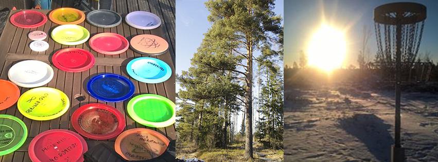 Frisbeegolfkenttä Pohjois-Espooseen – tule talkoisiin!